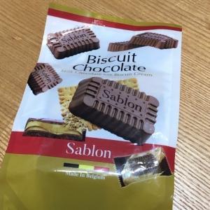 カルディの サブロン ビスケットチョコレート
