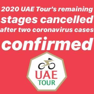 UAEツアー中止に対する選手らの反応
