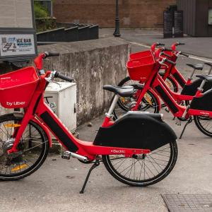 Uberが数万台もの自転車を廃棄処分へ