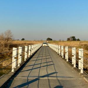 入間川 冬の散歩記録(5)落合橋〜釘無橋〜出丸冠水橋