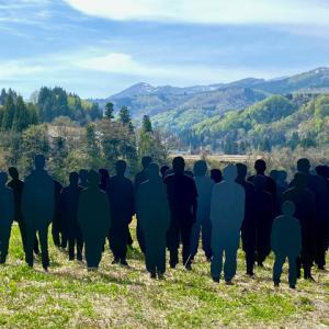 大地の芸術祭・津南の3作品『Melting Wall』『記憶―記録』『国境を越えて』