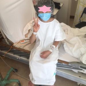 娘が鼻骨骨折!通院から入院、手術まで!