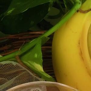 紅茶レシピ2*バナナ&ピーナッツバターミルクティー♪