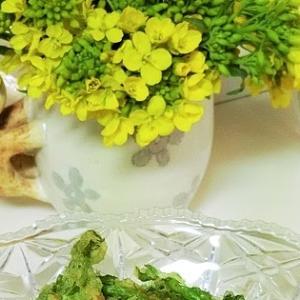 レシピ*菜の花そば