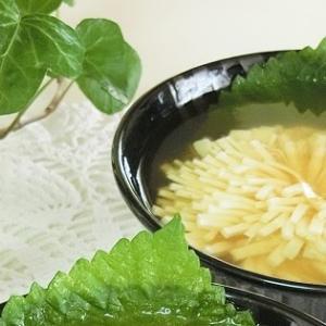 レシピ*七夕にも!菊花豆腐のとろける寒天寄せ