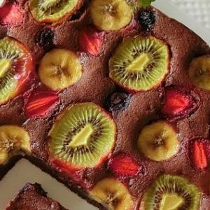 レシピ*フルーツチョコレートパウンドケーキ