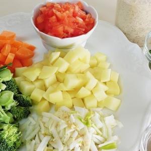 野菜のビリヤニ ♪ おうちでエスニックごはん