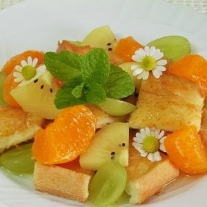レシピ*フルーツトースト*簡単おいしい朝食におすすめ