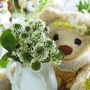 野の花を飾ったよ ♪