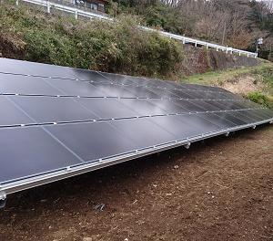 静岡県内で太陽光発電システム設置工事!