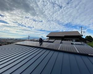 三島市内で7.0kw太陽光発電システム設置工事!【SUNVISTA】