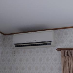 エアコン入れ替えでお部屋が明るくなりました!【CS-EX221D】