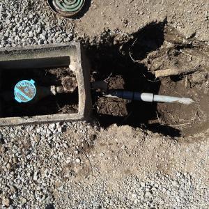 駿東郡清水町 水が止まらない!メーターバルブ交換工事!