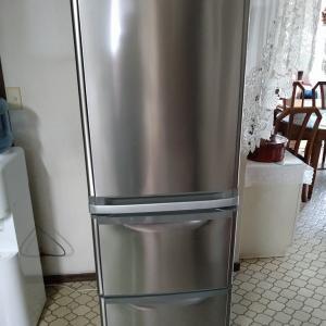 冷蔵庫の下から水漏れ?駿東郡清水町にて納品。
