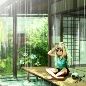 雨あがる。たぶん、もうすぐ。