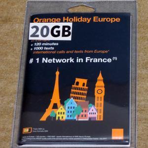 パリで使える海外SIM3つを比較!「Orange Holiday ヨーロッパ」がオススメ!通信、通話、テザリングもOK!