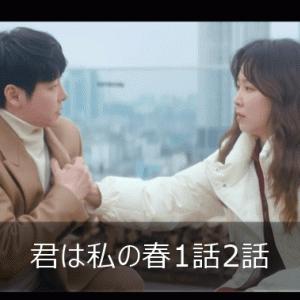 君は私の春 1話 2話 あらすじ 感想ネタバレ  ソ・ヒョンジン