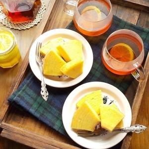 庭収穫のレモンで・・・ティータイム♪
