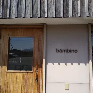 「bambino cafe」でランチとおやつ♪