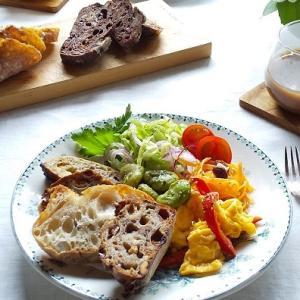 「stock」のパンと野菜たっぷりのワンプレート & おやつの時間♪
