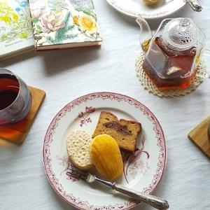 美味しい焼き菓子と紅茶で・・・ほっと一息♪