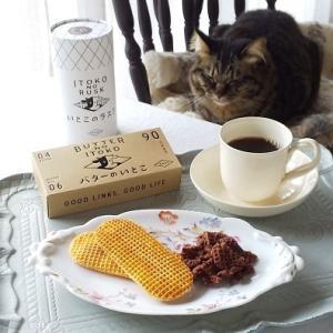 猫とおやつ♪ 「バターのいとこ」と「いとこのラスク」