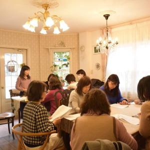FWJ認定講師ミーティング【兵庫県西宮市フラワーアレンジメント教室Atelier Corolla