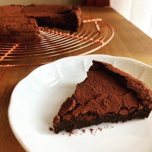 オンラインチョコレートケーキレッスン