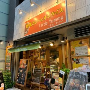 【東京浅草橋】量以外は超ヘルシー!!爆盛り野菜とチーズカレーチャレンジ!!〜リトルヤミーさん〜