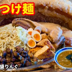 【勝手にコラボ】大阪「らぁめんまるなか」のトッピングで長野「塚田兼司100%仕込みのつけ麺」を!
