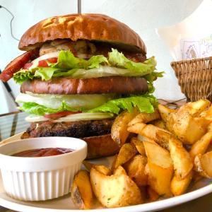 【茨城県つくば市】巨大バーガーを15分で攻略?!絶品バーガーチャレンジ!!〜NONCafeさん〜