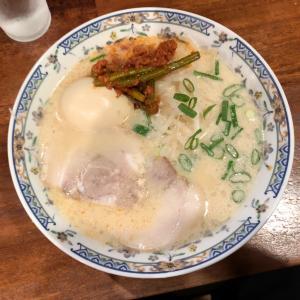 【ラーメン•徳山】シメはやっぱり瓶ビールと辛いラーメン?!〜小力さん〜