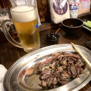 【居酒屋・宮崎市】宮崎名物!絶品地鶏のやき鳥でビールとか最高!!〜丸万さん〜