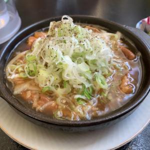 【食堂・韮崎市】名物もじ煮定食とこれは関西風?!ソースカツ丼!!〜食道やま輝さん〜