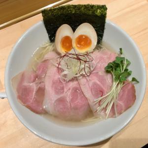 【ラーメン・鳥取市】上品な鶏と魚介の塩ラーメンと限定つけ麺!!〜麺家たけ田さん〜