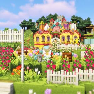 Part501 お花畑に囲まれた養蜂場を作る〓農業modサバイバル11