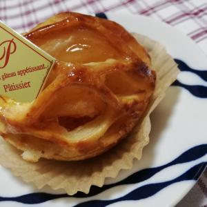 食パン屋さんのアッブルパイがとても美味でした