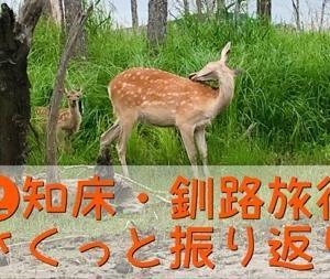 【2】知床・釧路旅行さくっと振り返り