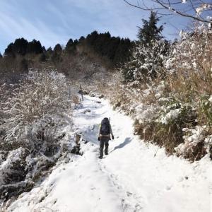 残雪の那須ヶ原山