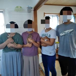 M地区5兄妹ピーちゃんキーちゃん正式譲渡へ!