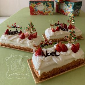 今年も~クリスマスケーキのレッスンを☆