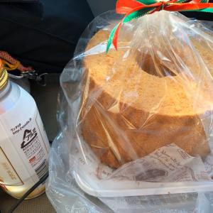 【感謝】浄化槽の保守点検の更新集金で「手作りシフォンケーキ」