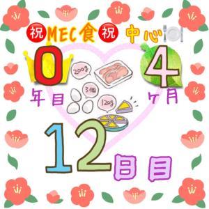 新MEC食4ヶ月12日目!+400g!調整開始٩( ´ ᗜ ` *)و【total−16.4㎏】