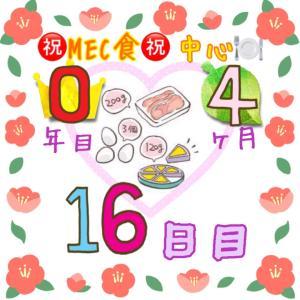 新MEC食4ヶ月16日目!−400g!まさかの1日で調整終了!?【total−16.4㎏】