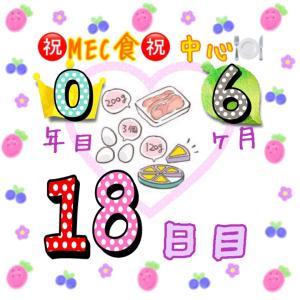 新MEC食6ヶ月18日目!3日間で増えた体重がリセットされました♪【total−16㎏】