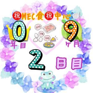 新MEC食9ヶ月2日目!−400g!週末の誘惑に勝てるだろうか(笑)【total−13.8㎏】