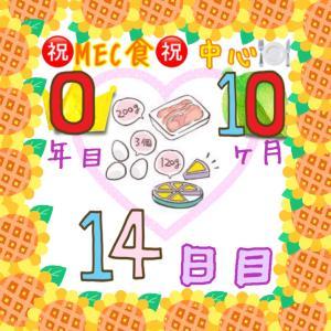 新MEC食10ヶ月14日目!+600g!一昨日の爆食いと連休で...?【total−13.8㎏】