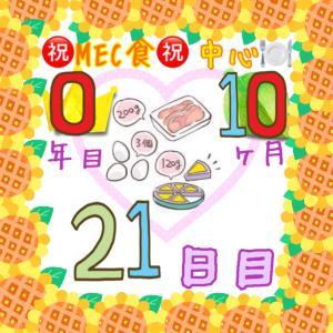 新MEC食10ヶ月21日目!フル活動勤務日が一時終了♪【total−15㎏】
