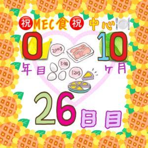 新MEC食10ヶ月26日目!+1.2㎏。増えるのは一瞬。調整開始!!【total−12.2㎏】