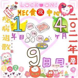 新MEC食1年4ヶ月9日目!また食べてしまったけど±0㎏♪【total−7.8㎏】